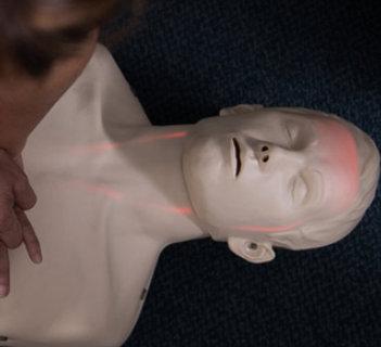A human plastic body